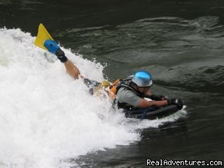 Riverboarding Montana - Whitewater Rafting & Riverboarding in Montana