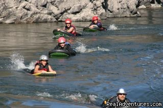 Riverboarding  - Whitewater Rafting & Riverboarding in Montana