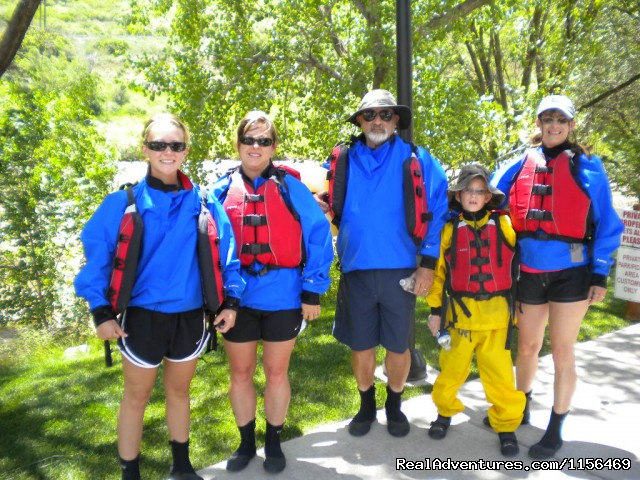Rafting for all ages! (#2 of 14) - Glenwood Canyon Rafting-Colorado River