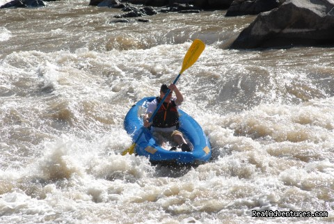 Kayaking the CO River! - Glenwood Canyon Rafting-Colorado River