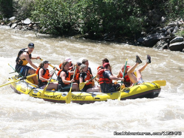 Fun on the Roaring Fork - Whitewater Rafting, LLC
