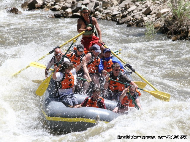 Glenwood Canyon on the Colorado River - Whitewater Rafting, LLC