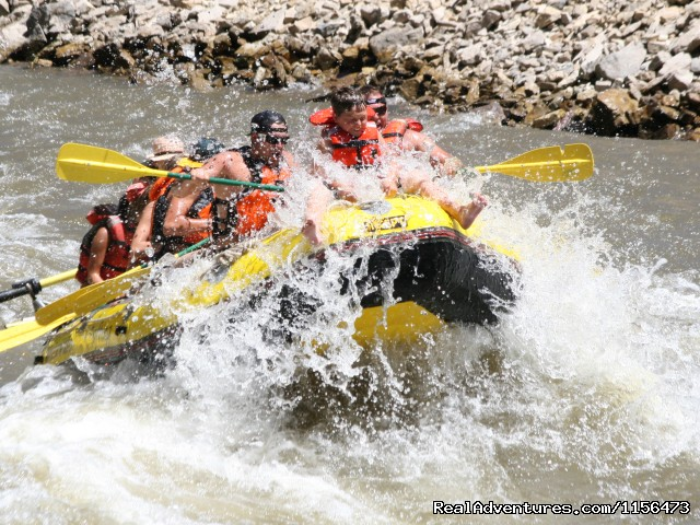 Riding the bull - Whitewater Rafting, LLC