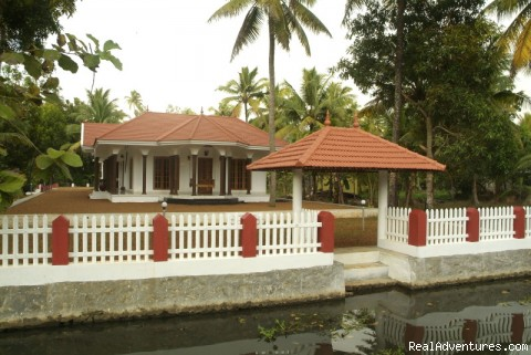 Out side view - Homestay,Bed and Breakfast Kumarakom Kerala India