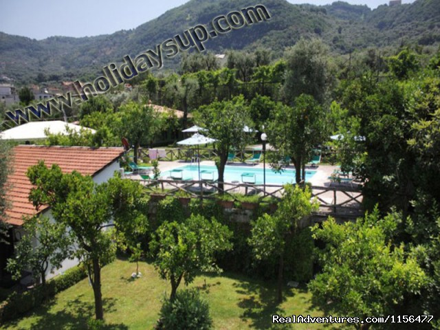 Garden (#4 of 23) - Charming apartment with swimming pool in Sorrento