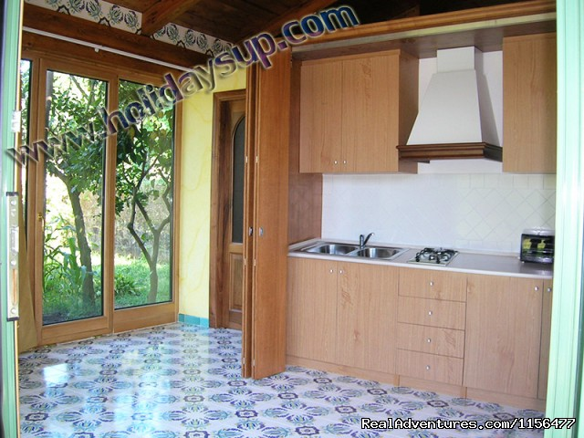 Kitchen (#6 of 23) - Charming apartment with swimming pool in Sorrento