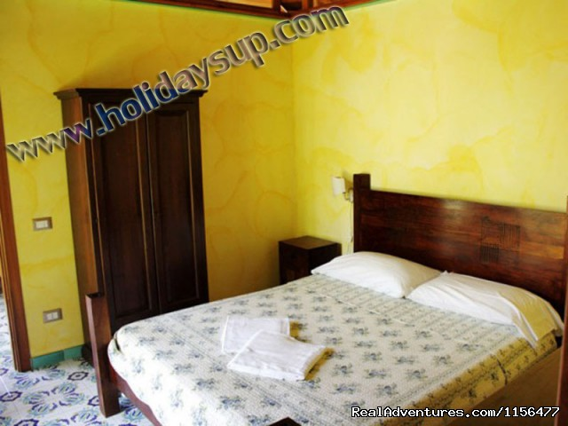 Bedroom - Charming apartment with swimming pool in Sorrento