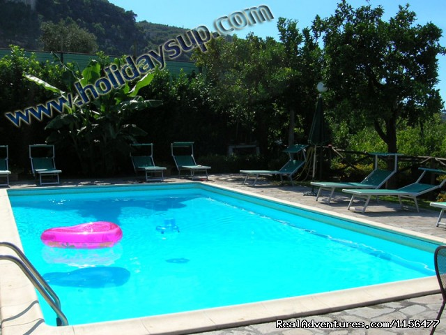 Charming apartment with swimming pool in Sorrento Swimming pool