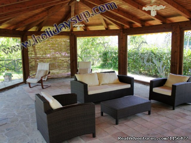Patio (#2 of 23) - Charming apartment with swimming pool in Sorrento