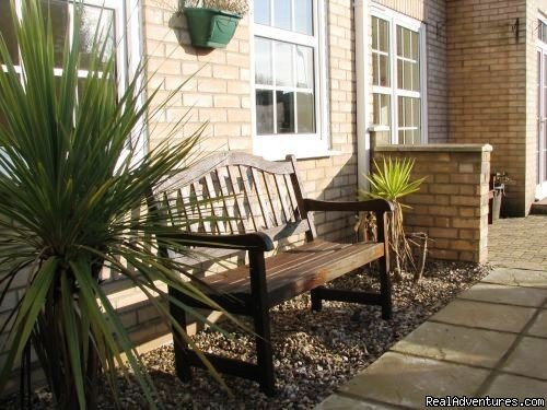 Outdoor seating area | Image #4/5 | Wensum Guest House in the heart of Norwich