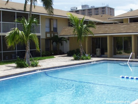 Pool - Club House - Historic Fort Myers Condo