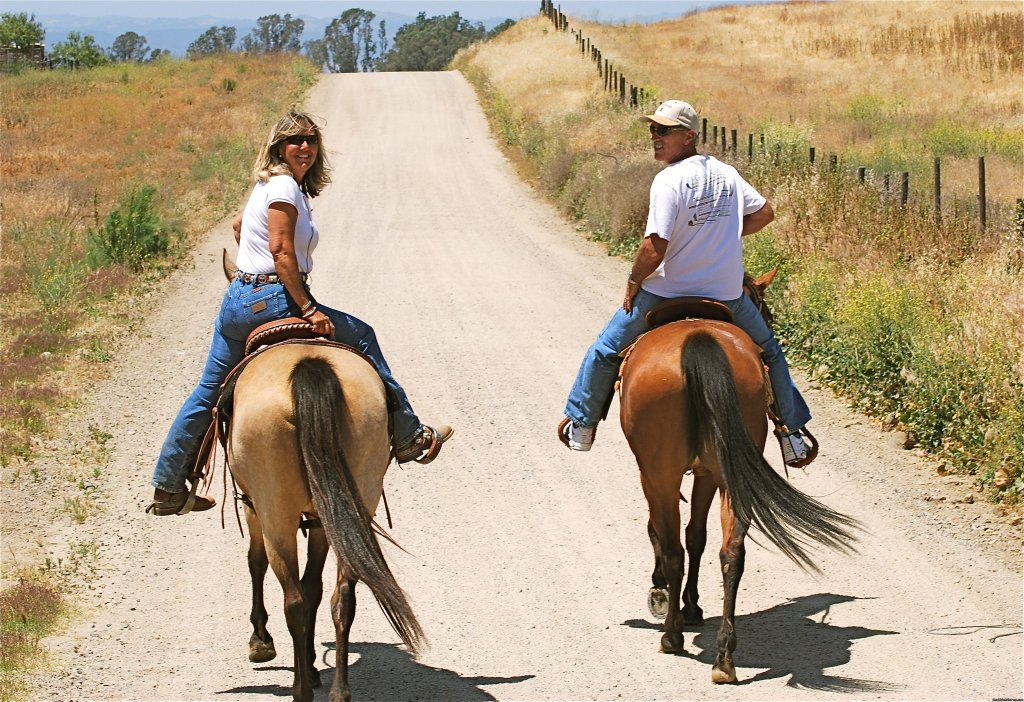 Let our guides share these beautiful trails w/you!   | Image #6/8 | Wine Country Horseback Riding in Temecula CA