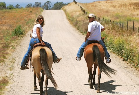 Let our guides share these beautiful trails w/you!   (#6 of 8) - Wine Country Horseback Riding in Temecula CA