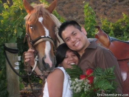 Will you  marry me? - Wine Country Horseback Riding in Temecula CA