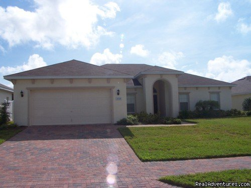 VILLA ARABELA FRONT VIEW | Image #4/17 | Fantastic Family House To Rent Davenport Orlando