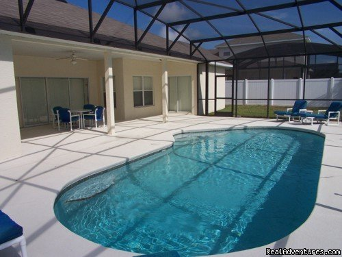 POOL | Image #12/17 | Fantastic Family House To Rent Davenport Orlando