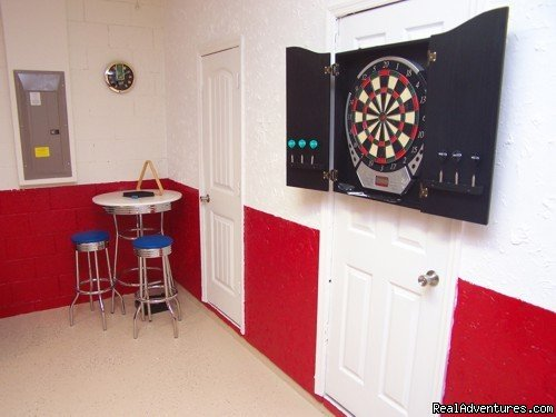 GAMES ROOM | Image #14/17 | Fantastic Family House To Rent Davenport Orlando