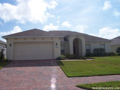VILLA ARABELA FRONT VIEW - Fantastic Family House To Rent Davenport Orlando