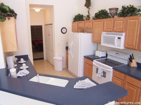 KITCHEN - Fantastic Family House To Rent Davenport Orlando