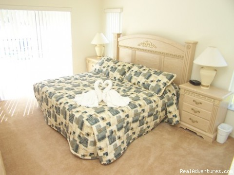 MASTER BEDROOM 2 - Fantastic Family House To Rent Davenport Orlando
