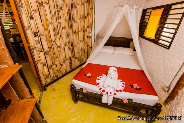 Garden Overview - Hostel & Cabanas Ida Y Vuelta Camping
