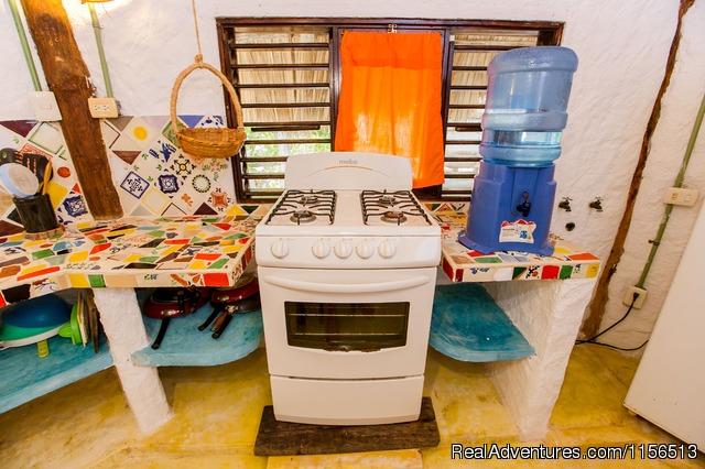 Relax Area & Garden - Hostel & Cabanas Ida Y Vuelta Camping