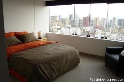 Bedroom - Miraflores central furnished beautiful view