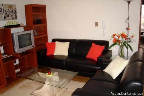 Living room - Miraflores central furnished beautiful view