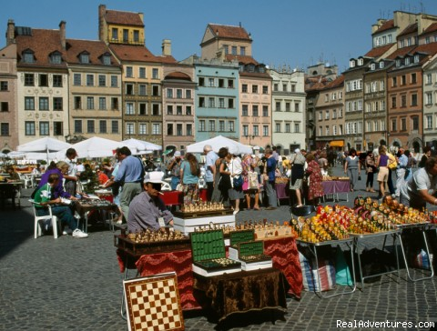 Warsaw Old Town (#5 of 10) - Unique cooking vacations in Poland.