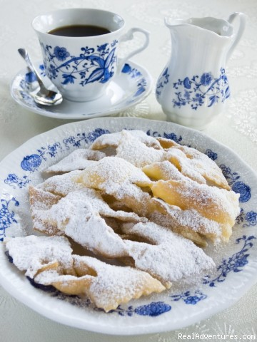 Chrusciki or faworki - Polish dessert (#10 of 10) - Unique cooking vacations in Poland.