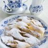 Chrusciki or faworki - Polish dessert