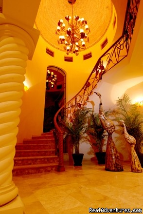 Grand Stair Case of Tesoro - Two Stunning Villa's in Puerto Vallarta