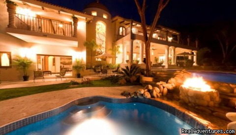 Tesoro @ Night - Two Stunning Villa's in Puerto Vallarta