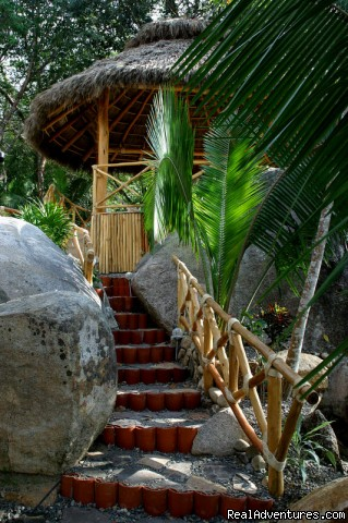 Stairs to Palapa @ Tesoro (#7 of 25) - Two Stunning Villa's in Puerto Vallarta