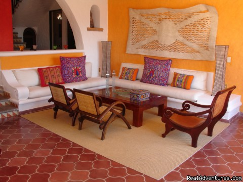 Villa Viva living room - Two Stunning Villa's in Puerto Vallarta