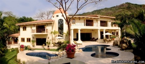 Back Of Villa Tesoro - Two Stunning Villa's in Puerto Vallarta