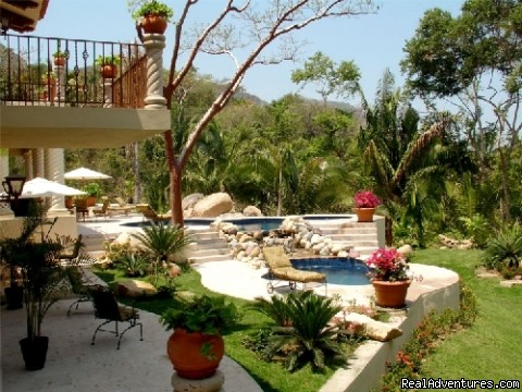 Patios & Two Pools @ Tesoro (#20 of 25) - Two Stunning Villa's in Puerto Vallarta