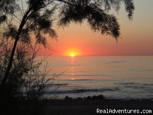 Sunset - Best Western Irida Resort Kyparissia Peloponnes