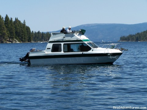 HUGE DISCOUNT FOR BOAT CHARTER - Luxury South Lake Tahoe Rental & Boat Charter