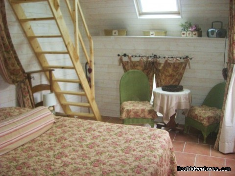 The Maid's Quarters' - B+B/self-catering accomodations in Normandy