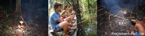 BLACK RIVER JUNGLE EXPEDITION - Brazil  Travel Jungle Trek Expedition JaÚ Park