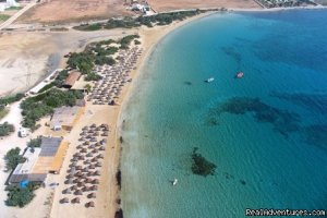 Camping Surfing Beach Naousa,Paros, Greece Campgrounds & RV Parks