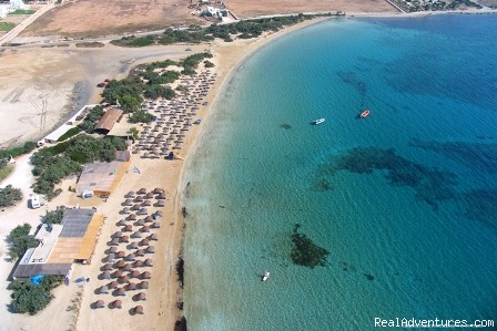 Camping Surfing Beach Campgrounds & RV Parks Naousa,Paros, Greece