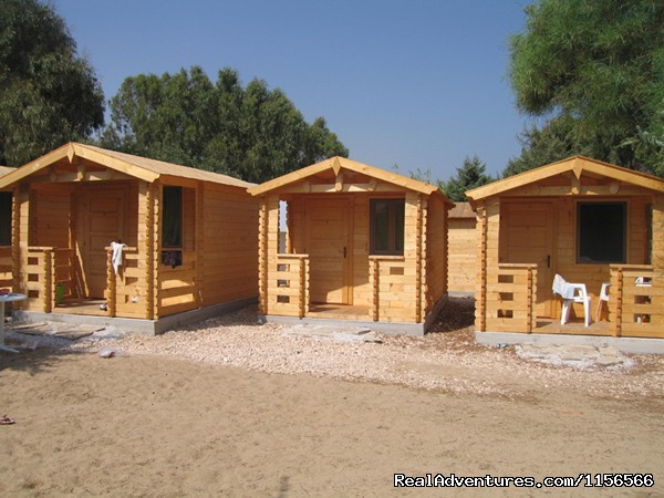 Wooden Huts - Camping Surfing Beach