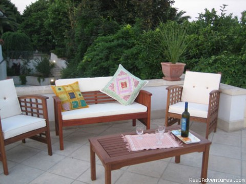 bed and breakfast Lecce Puglia Vlla Giuliana lounge area - Villa Giuliana wine & rooms in Salento (Apulia)