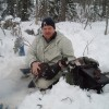 Capercaillie from the winter stalk hunt