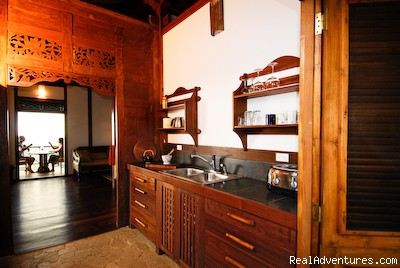 Potoo kitchen at Manu villas and Spa vacation rental - Manu villa rental and vacation rentals Costa Rica