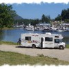 Harbour views for RV