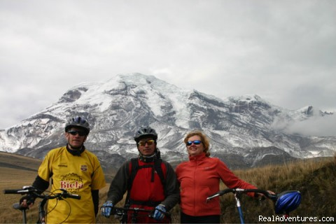 The Andean Bicycle Travel Company: Chimborazo!