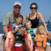Family Fishing, Gulf Shores, Orange Beach, Al. Family & Kids Reef Fishing